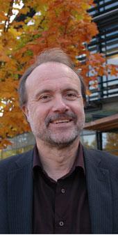 Sven-Olof Collin är ny professor på Högskolan i Halmstad. Bild: ANNIKA JOHANSSON - 081014-sven-olof-collin