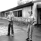 "1982: The University moves to ""Eketångaskolan"""