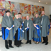 New professors at Halmstad University, 2007